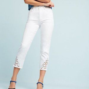 NEW Anthro Joes Jeans The Debbie High Rise Crop